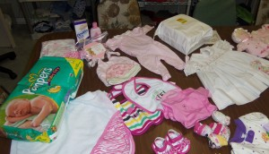 Girls Layette Clothing Diapers and More